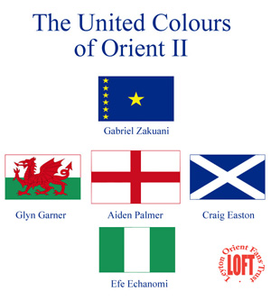 The United Colours of Orient II t-shirt