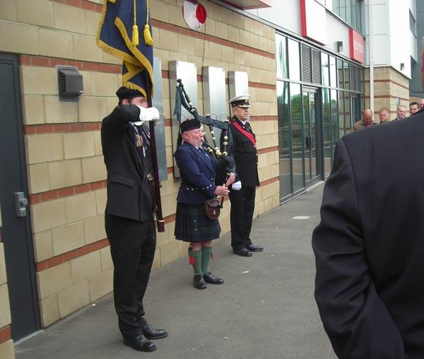 Unveiling of heritage plaque